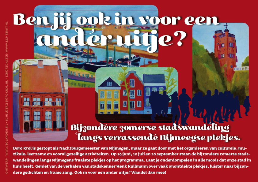 flyer rood